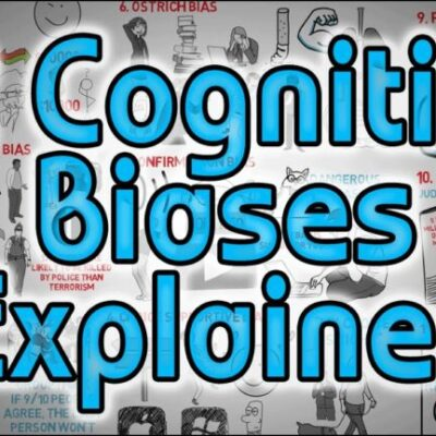 12 Cognitive Biases Explained – How to Think Better and More Logically Removing Bias