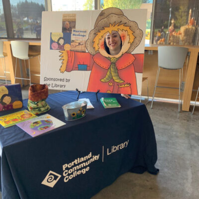 PCC Library at Harvest Festival
