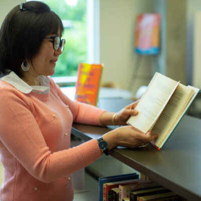 Popular Novels in the Library