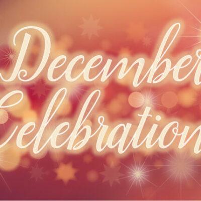 December Celebrations Virtual Display
