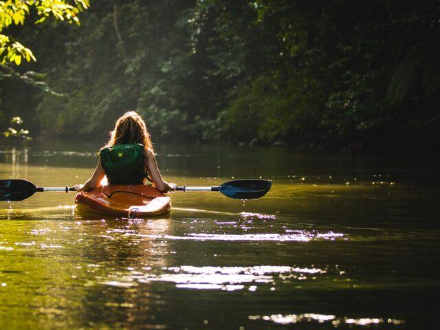 Kayaking Virtual Display