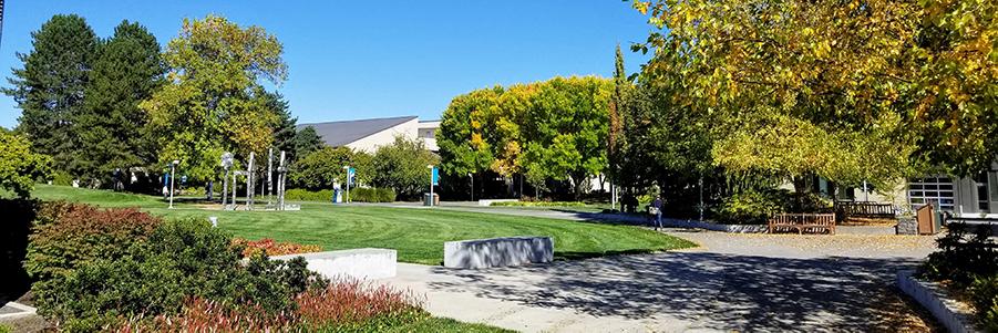 Rock Creek Campus landscaping