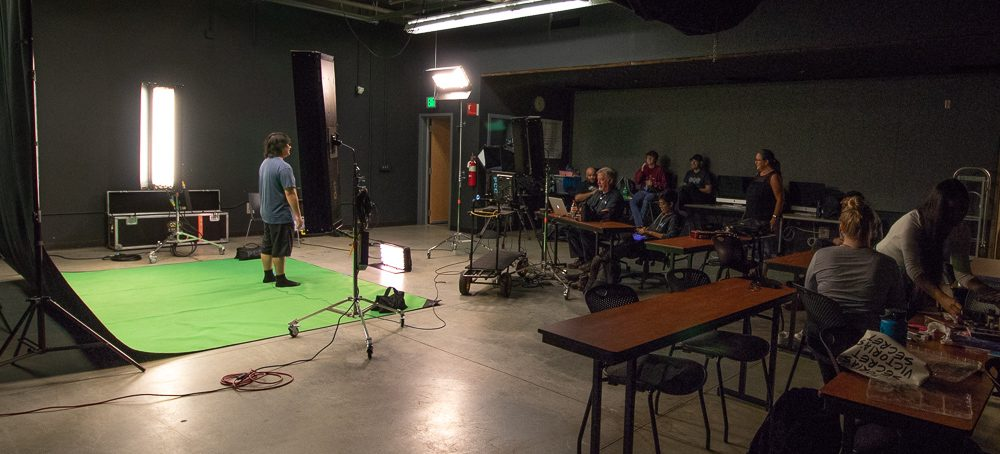 collaborating with the video production studio!