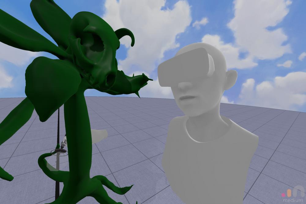 Sculpting in VR!