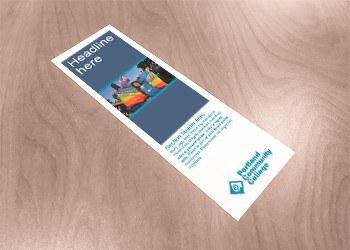 Photo banner bookmark