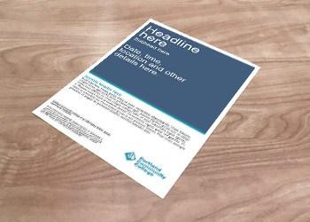 Simple handbill