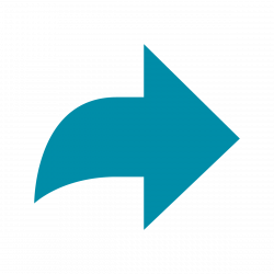 Turquoise arrow icon