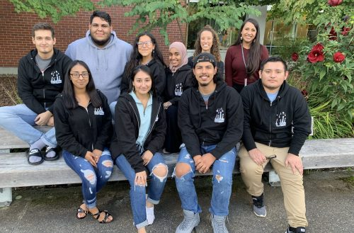 A picture of the SE Multicultural center student team