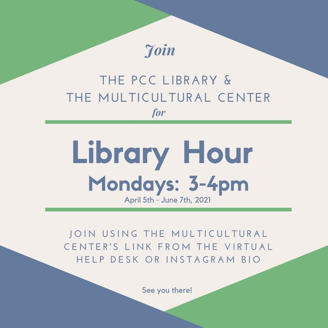 Library Hour with the MC
