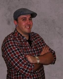 Daniel Soucy, graphic design student