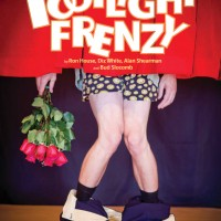 The poster for 'Footlight Frenzy.'