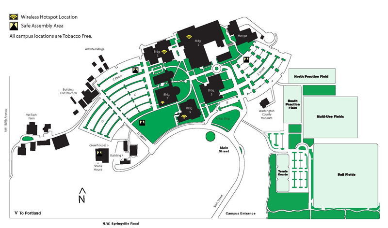 Top Pcc Rock Creek Campus Map Photos Printable Map New