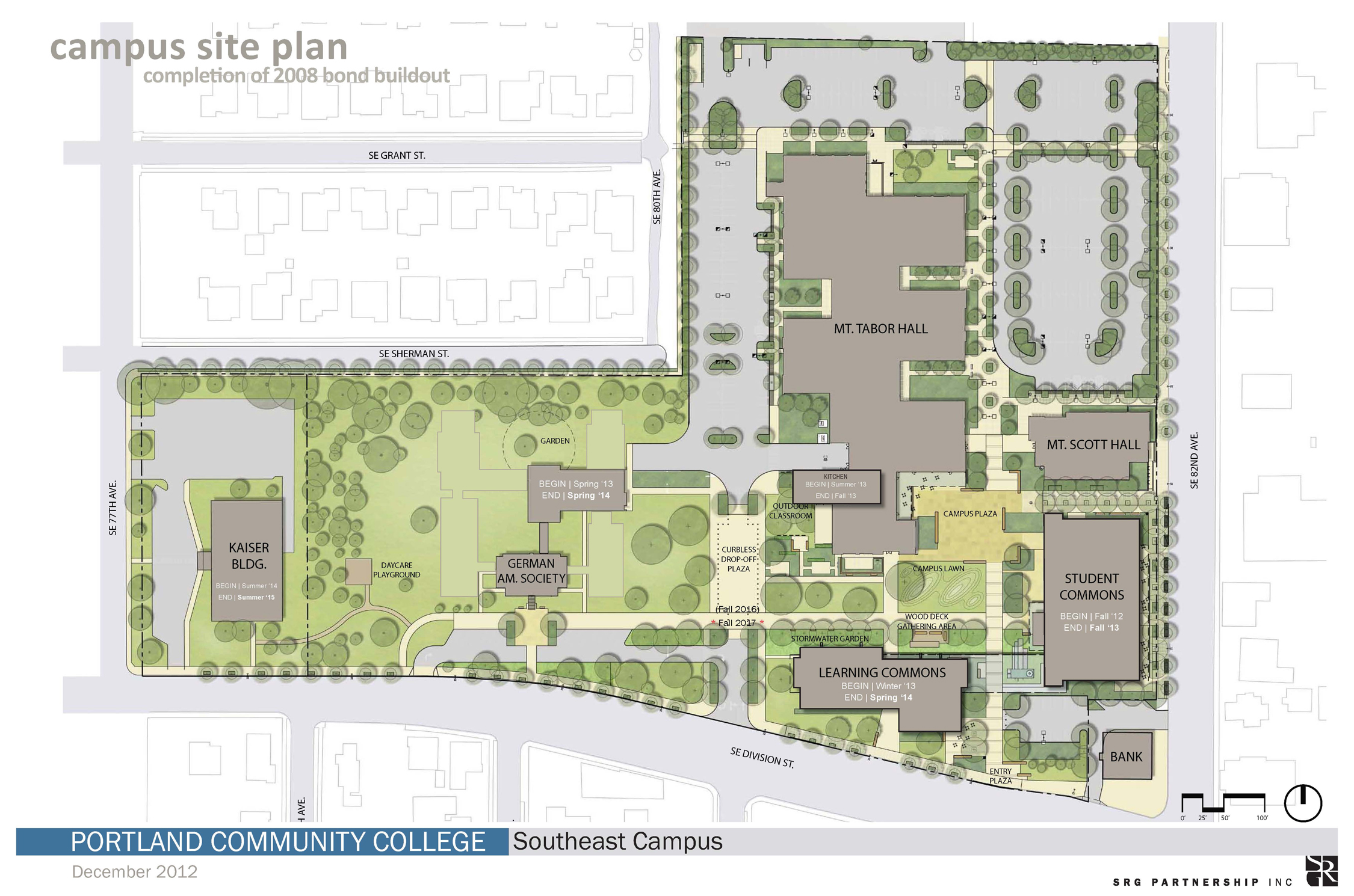 12.12.06 – SE Campus Schedule Site Plan – smaller image size for web ...