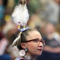 A dancer from the 2012 powwow.