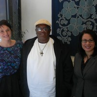 Left to right, ROOTS adviser Sarah Dykes, Floyd Pittman and Cascade ROOTS Director Claire Oliveros. Since 2011, the ROOTS Program has posted a persistence rate of 96 percent; meaning that an overwhelming majority of students are taking their studies seriously, and taking advantage of the support systems that ROOTS offers to help them succeed.