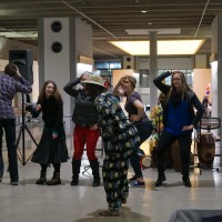"On Feb. 13, the Sylvania Campus hosted a concert in the newly renovated Upper CC Mall. ""The Rhythms and Dancing of West Africa,"" featured performances from Ghana's own Chata Addy and company."