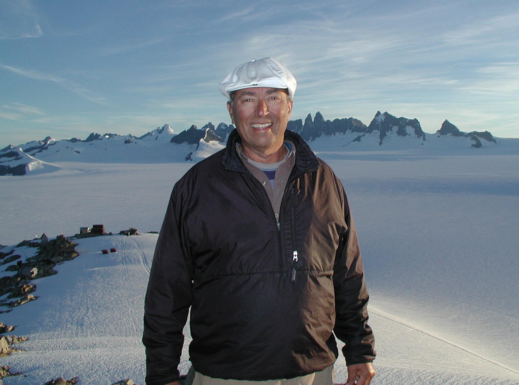 Dittrich is working with other scientists to assess the type and quantity of black carbon and minerals in the snow of the Juneau icefield to measure glacier mass loss due to the darkening of the snowpack.