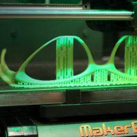 3D printer making glasses