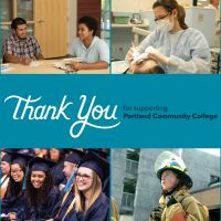 Thank you for supporting Portland Community College