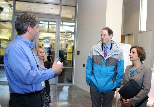 The Willow Creek Worksource Oregon location is a critical resource that has caught attention of U.S. Senator Ron Wyden and Congresswoman Suzanne Bonamici.