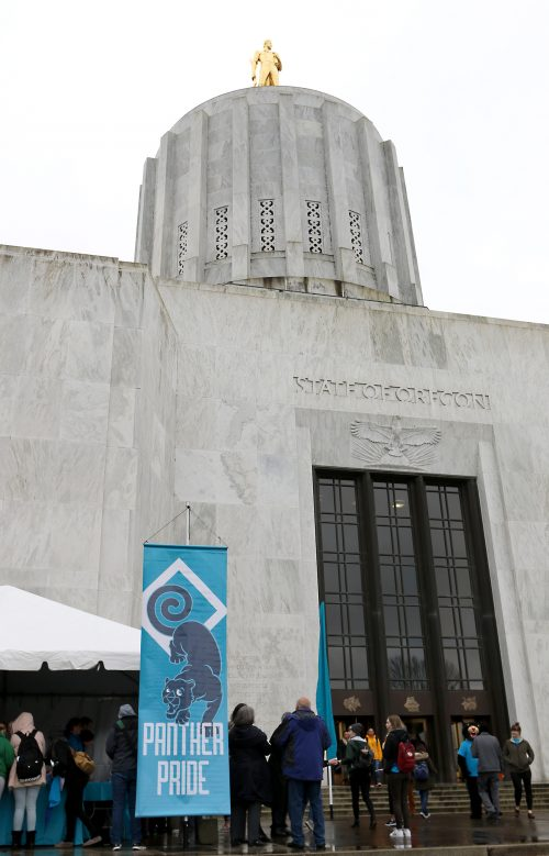 PCC is set to take over the Capitol Building steps on Feb. 27.