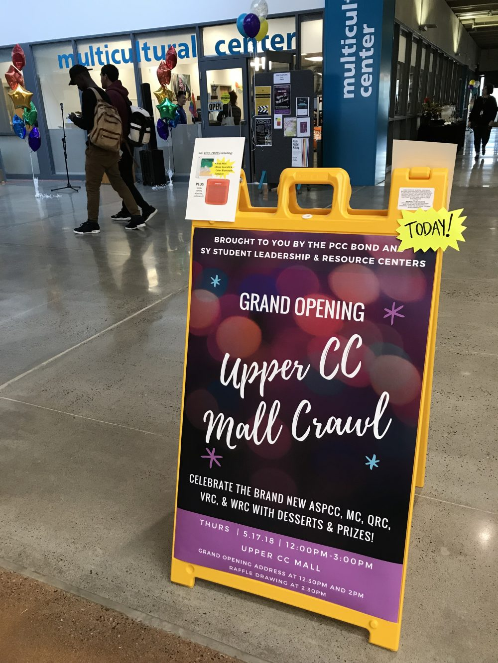 Upper Mall Crawl event