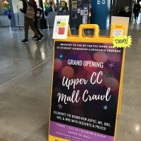 Upper Mall Crawl event