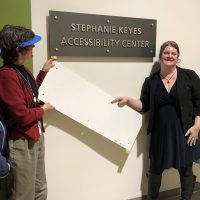 Opening the accessibility center
