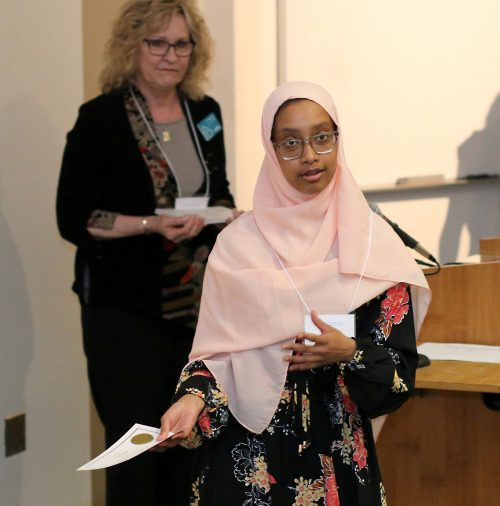 Sucdi Ahmed talks about what the focus award means to her.
