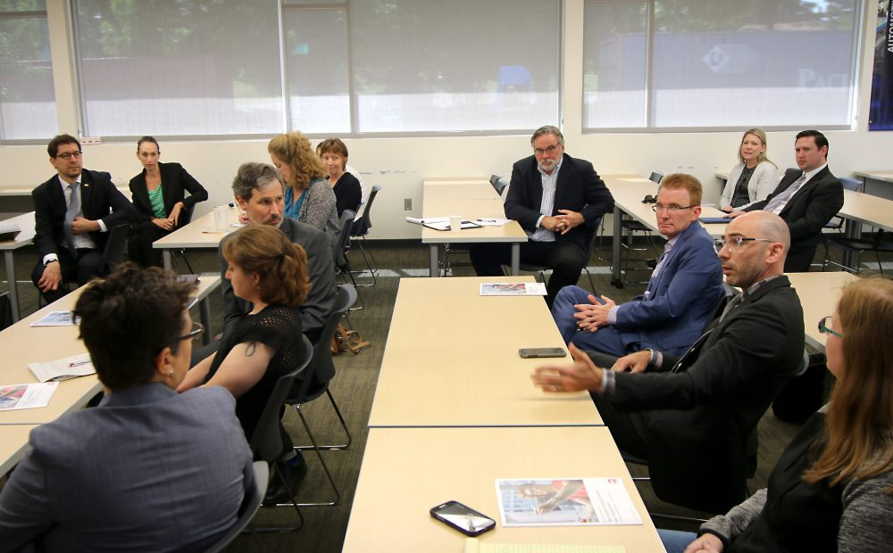 It was a stellar lineup of visitors for the event. The group included representatives from the Oregon Business Council, City of Portland, Greater Portland Inc, Portland Business Alliance and the Governor's Office.