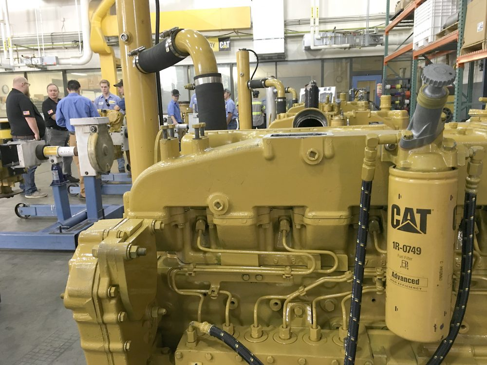 ThinkBIG is critical in developing trained technicians for the company and its shop has nothing but the latest Caterpillar diesel technology.