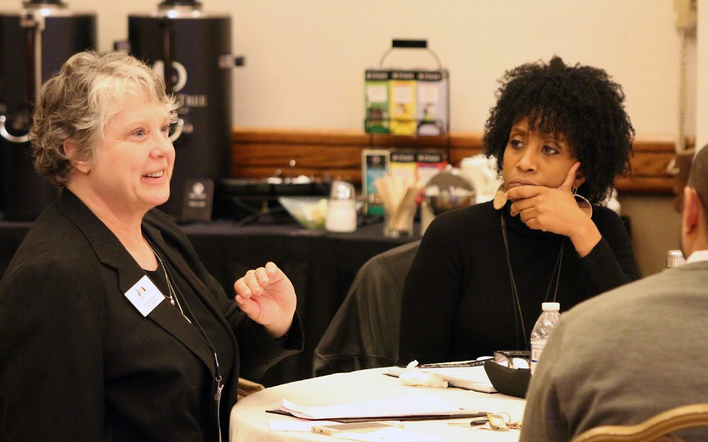 Oregon educators participated in think sessions on how best to serve underrepresented students.