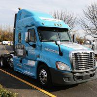 diesel freightliner truck