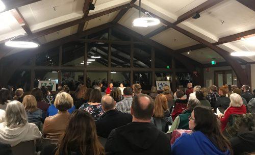 foster summit crowd.