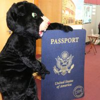 Poppe holds a passport