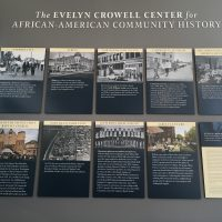 African American History Exhibit.