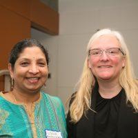Photo of Usha Ramanujam and Allison Blizzard
