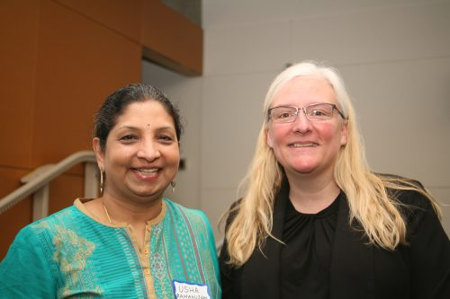 Photo of Usha Ramanujam and Allison Blizzard