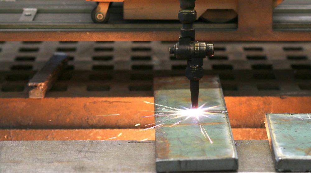 welding torch.