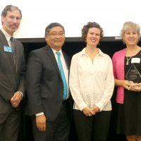 Vigor Industrial with award.