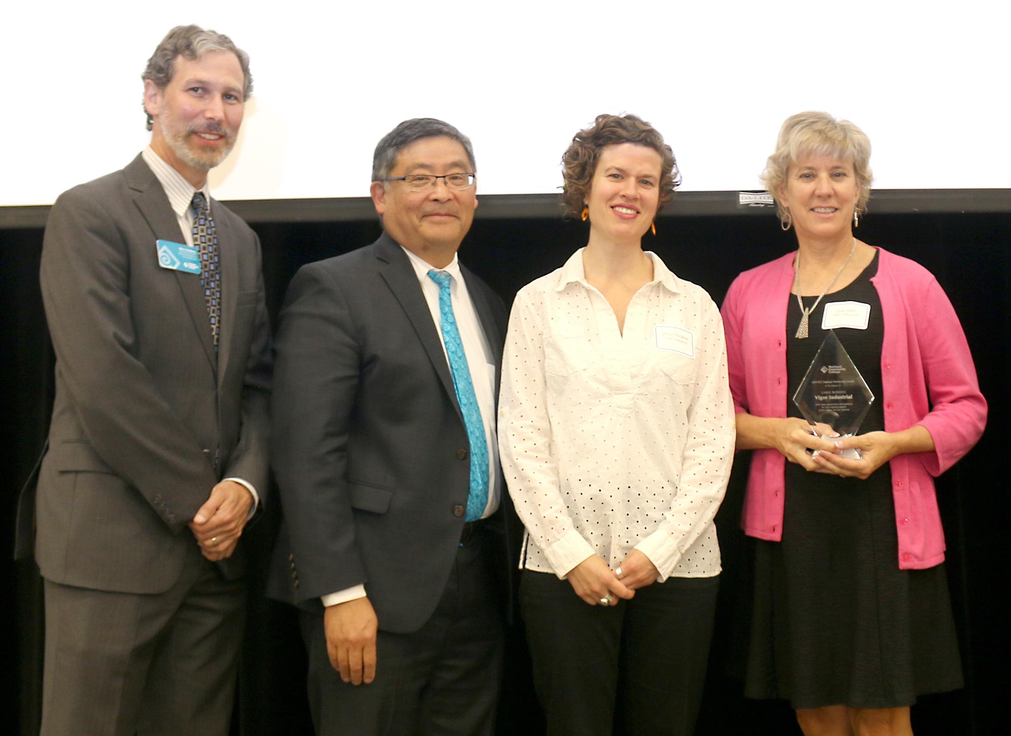VigorIndustrial award