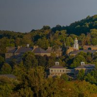 Landscape shot of Colgate U.