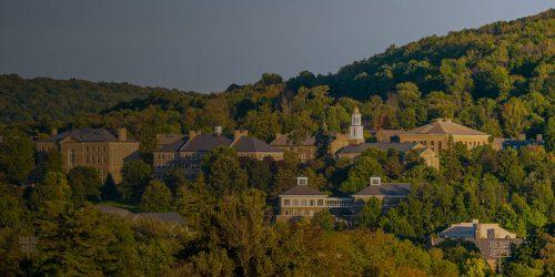 Landscape shot of Colgate U.