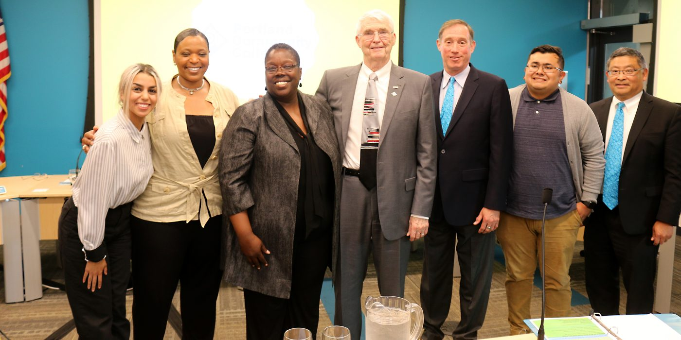 New board members group photo.
