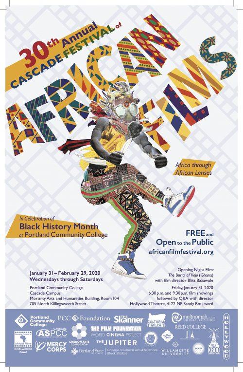 CFAF poster of dancer.