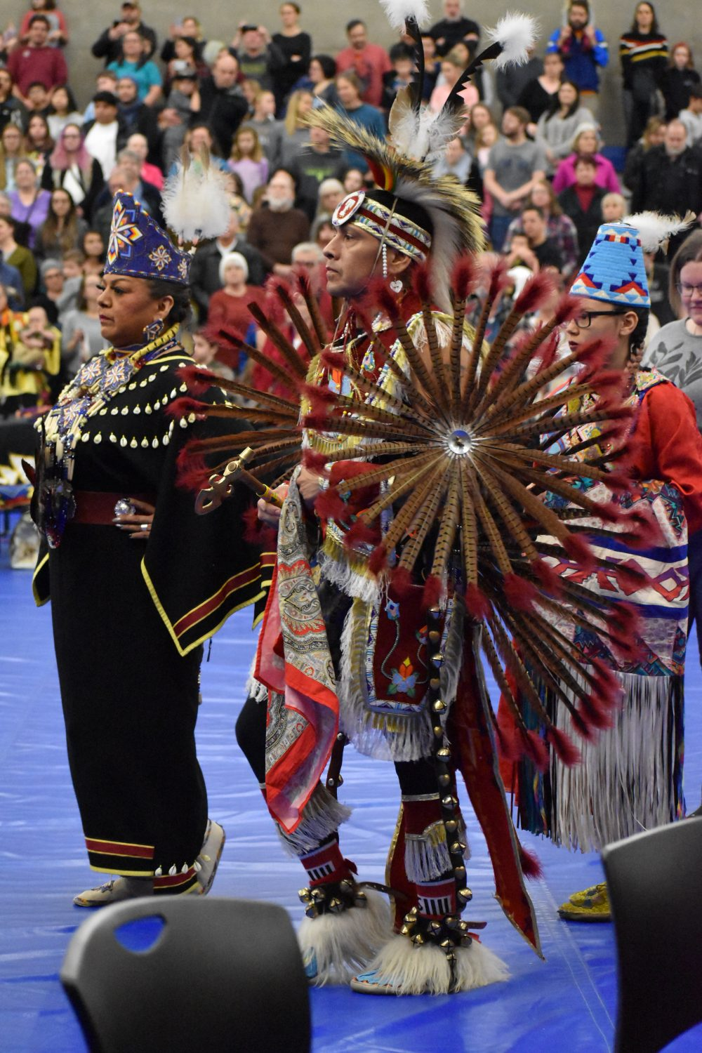 Photo of dancers at the powwow