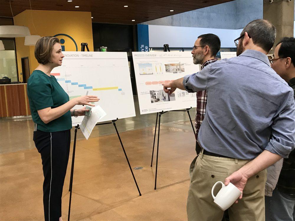 CC Share Fair on HT Building project.