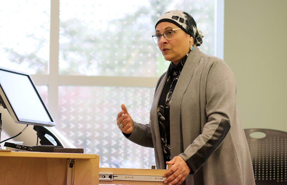 Nermine Ramadan speaking