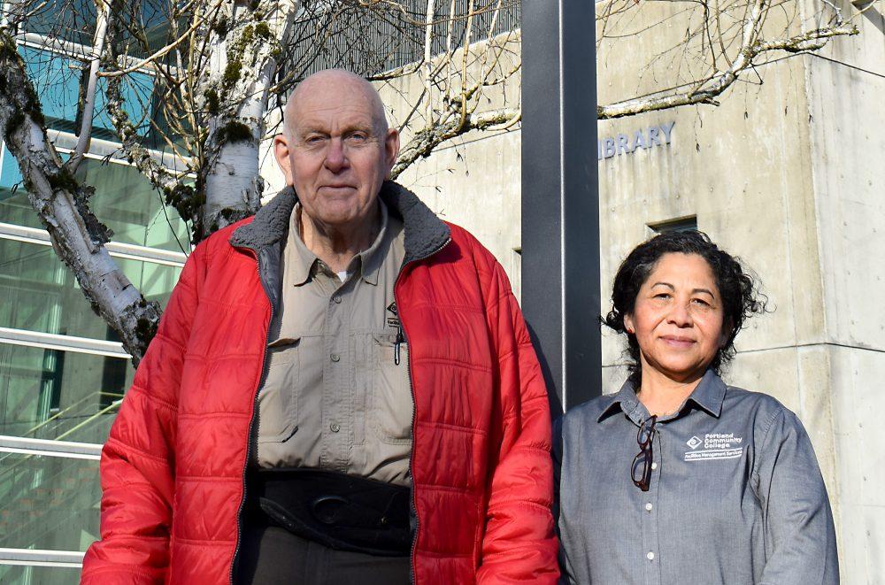 SEM team members Roger Jose and Maria Ortiz.