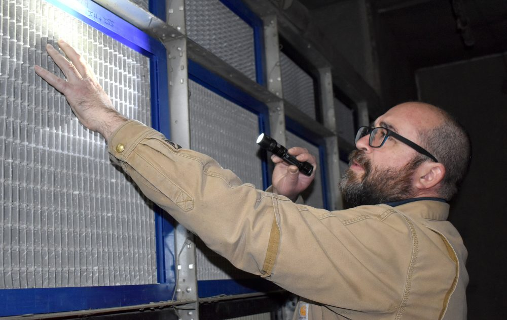 Jimmy Hood, a facilities operations maintenance specialist